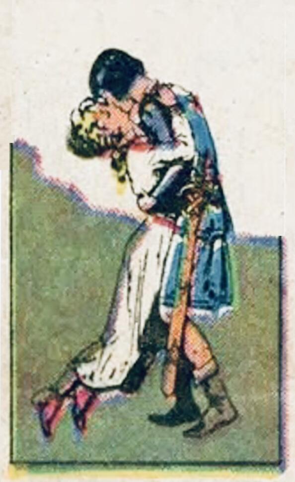 Aleta, drottningen av de dimmiga öarna, kom att bli Valiant maka och mor till deras många barn. ©KFS