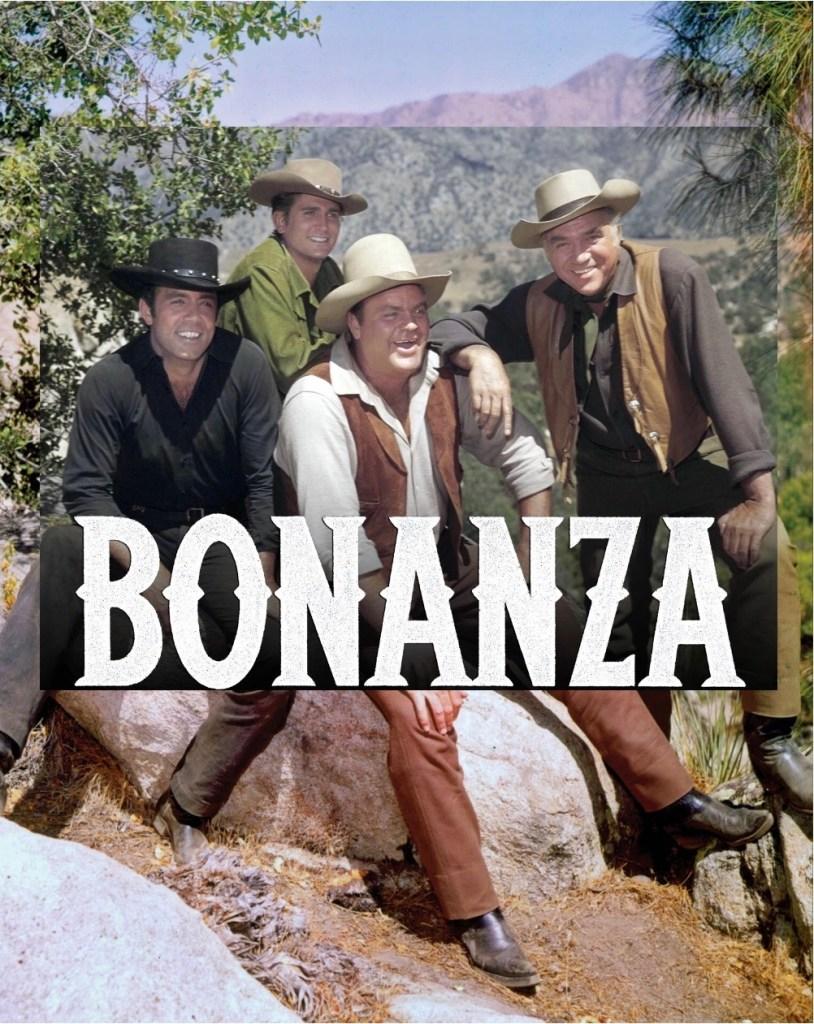 Tv-serien Bröderna Cartwright hette i original Bonanza. ©NBC