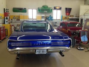 1966 Pontiac GTO back
