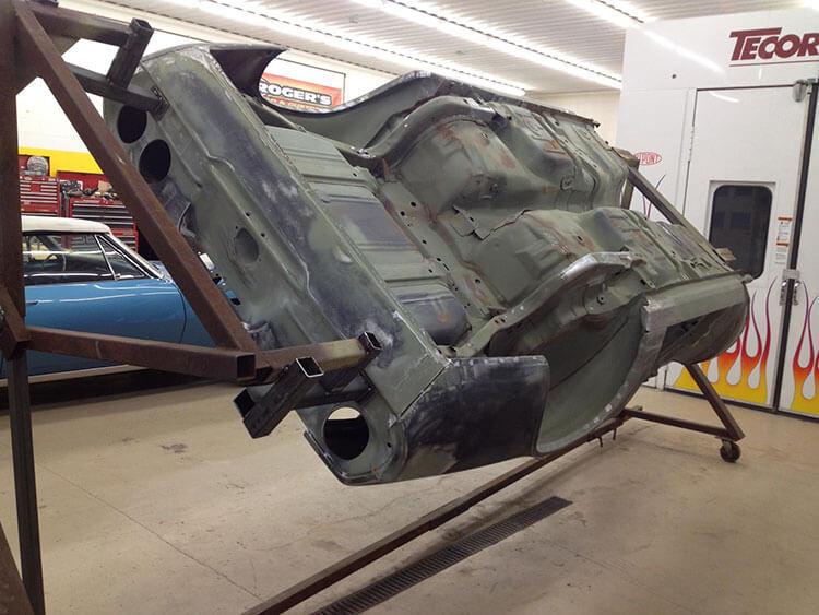1971 Camaro body work