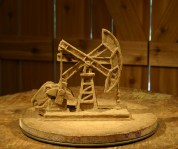 "Pump Jack Award (6"" High) Not for sale"