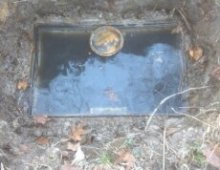 Flooded distribution box