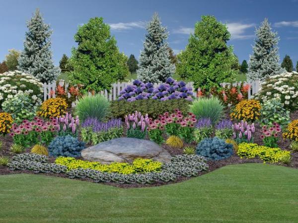 landscape design - rogers spring