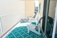 New Adirondack chairs and rug c