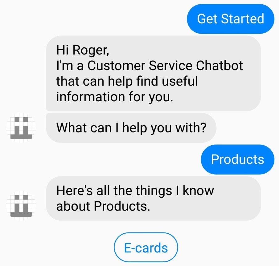 Customer service chatbot using Freshdesk API
