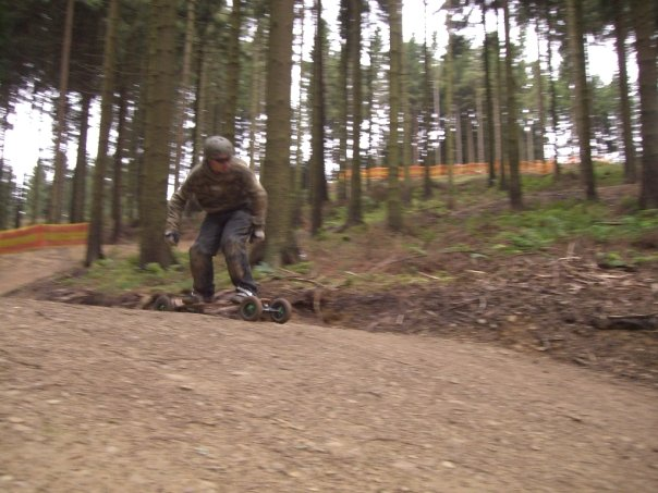 Winterberg mountainboard track