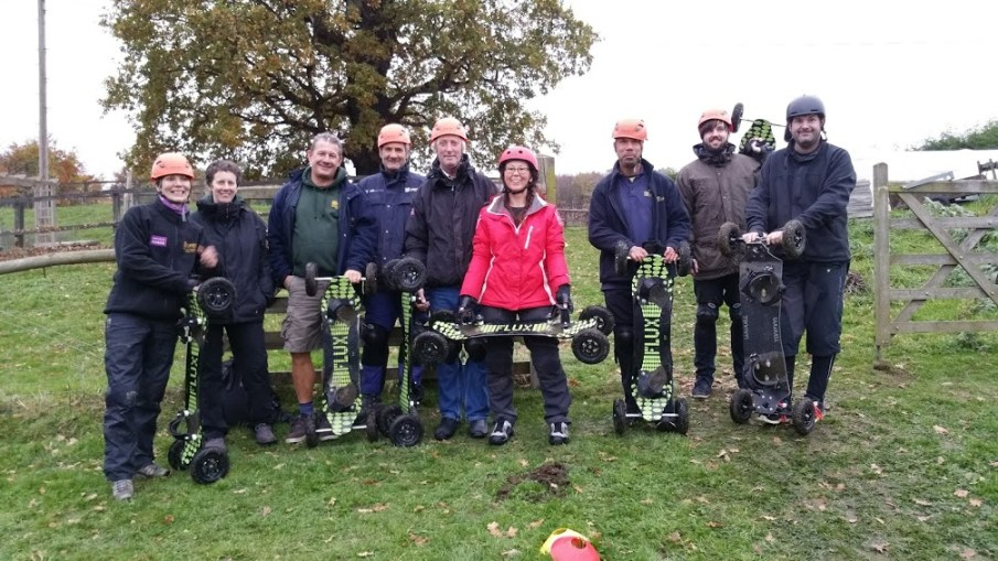 Mountainboard Instructor Training at Herd Farm