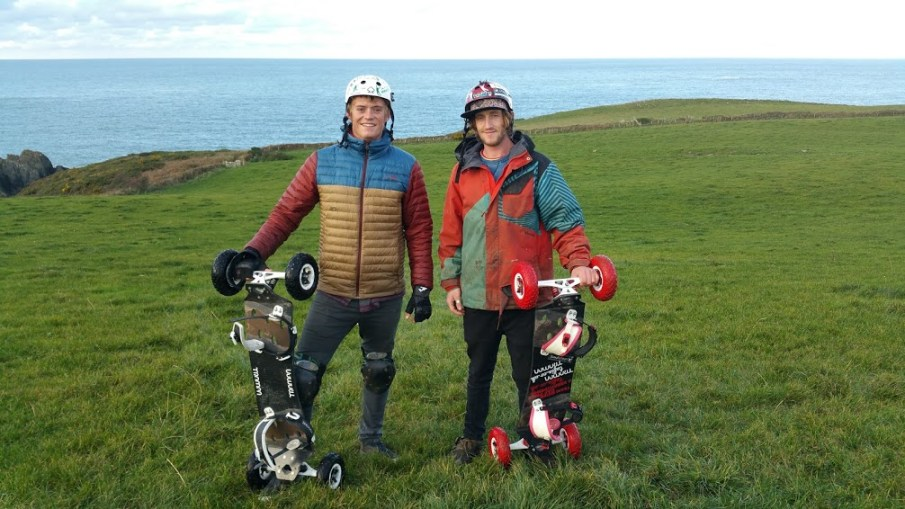 Mountainboard Instructor Training in West Wales