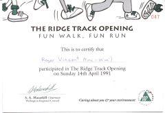 Ridge Track Opening