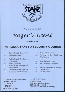 Security Course