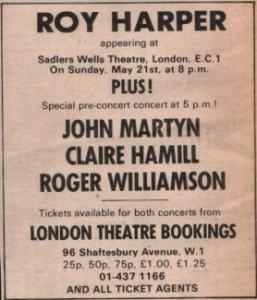 martyn, harper, williamson
