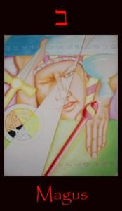 tarot magus, Major arcana tarot card Magus. Fine art symbolic representation of the card