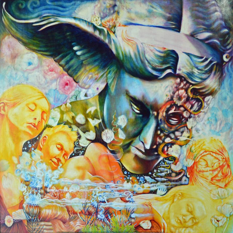 De Quincy, symbolic art, mythology, minneapolis artist,levana confessions