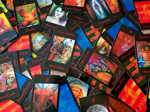 Tarot Cards from Tarot of the Morning Star by Minneapolis artist Roger Williamson.tarot card art and interpretation