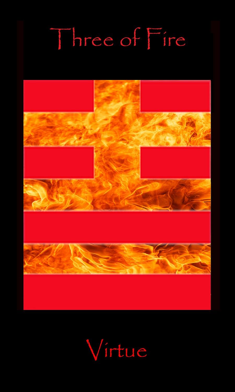 Tarot Three Fire, Interpretation And Relationship To