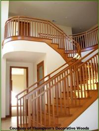 Roger's Woodturning, Inc. - CONTEMPORARY STAIRWAYS