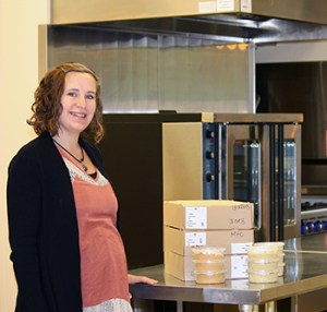 Gabby Taylor of Organic Harvest Hummus