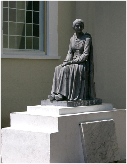 Evangeline Statue