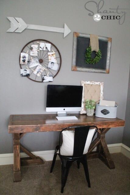 DIY Trestle Desk Free Plans Rogue Engineer