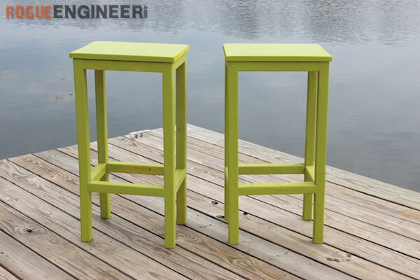 wood stool chair design ikea kids table and easiest bar stools ever free diy plans rogue engineer easy