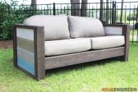 Rogue Engineer { Free Plans } Outdoor Wood Plank Loveseat