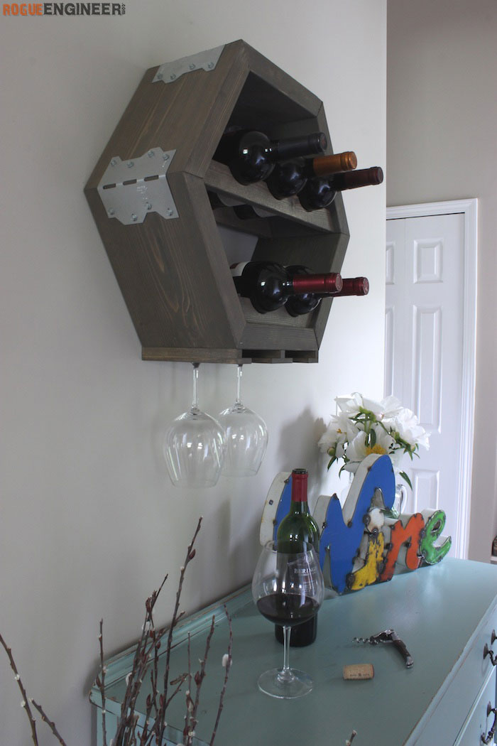 wine glass holder rogue engineer