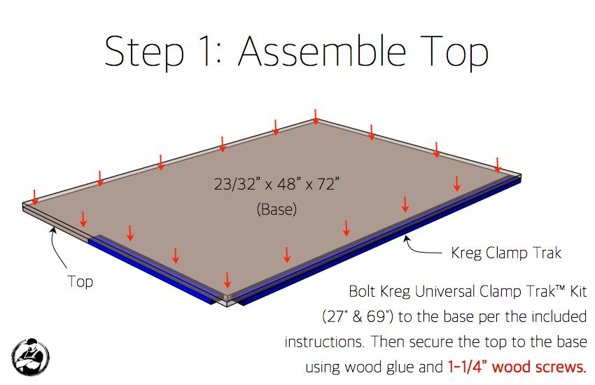 Kreg Clamping Table Plans