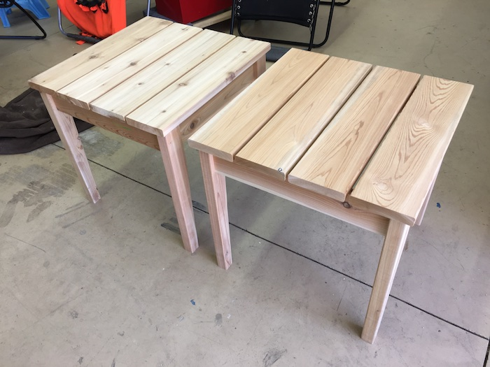 Simple Outdoor Side Table » Rogue Engineer