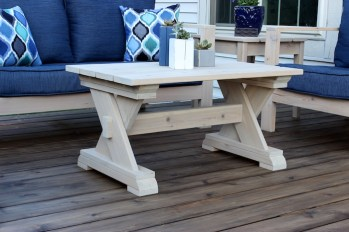 Small Outdoor Coffee Table