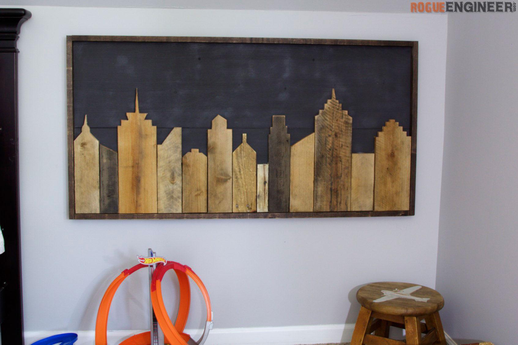 Cityscape Wall Art  Rogue Engineer