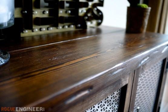 DIY Bar Cabinet Plans - Rogue Engineer 3