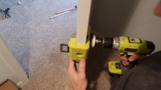 Replacing an interior door 15