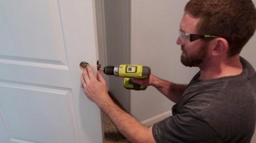 Replacing an interior door 21