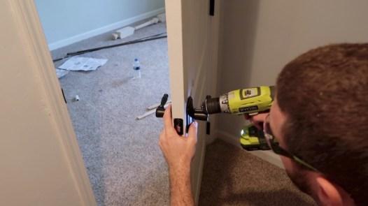 Replacing an interior door 22