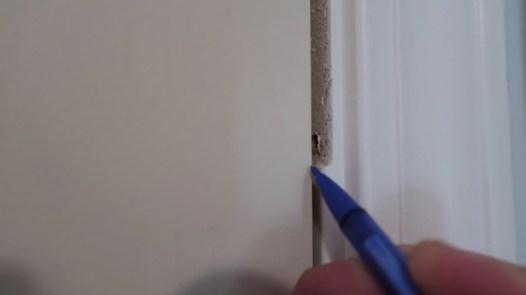 Replacing an interior door 6