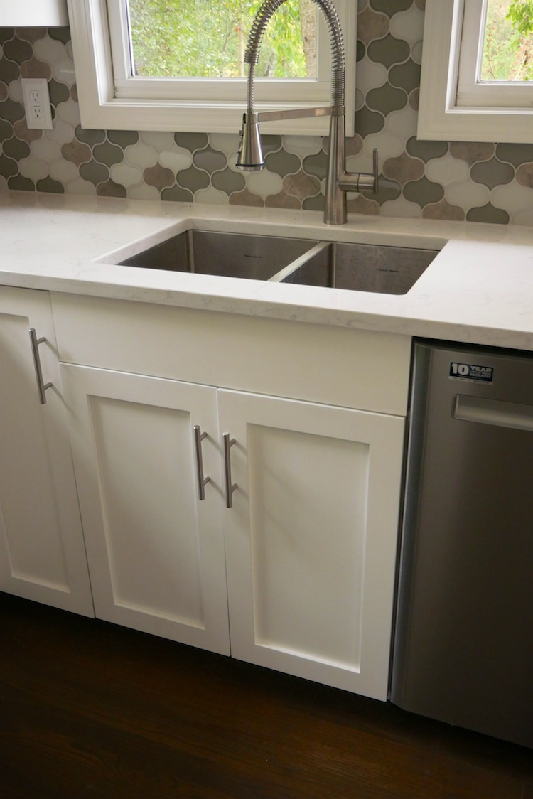 27in sink base cabinet carcass