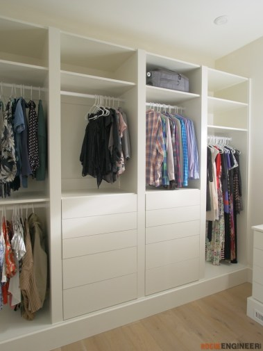 DIY Master Closet Plans Rogue Engineer 2