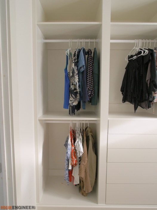 DIY Master Closet Plans Rogue Engineer 7