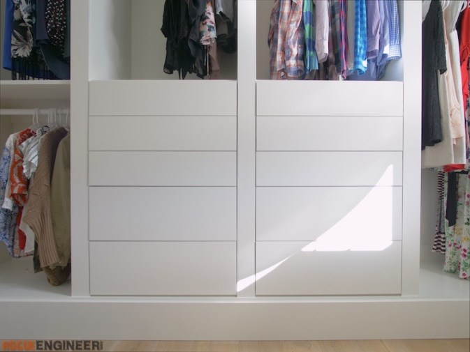 DIY Master Closet Plans Rogue Engineer 9