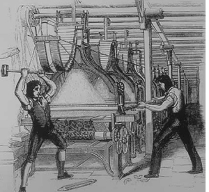 "THE LUDDITES: DEFENDING THEIR FAMILIES FROM TYRANNY ~ ""ENOCH MADE 'EM & ENOCH'LL BREAK 'EM"""