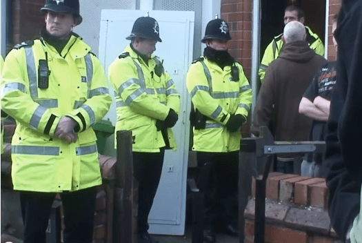 THE ENEMY WITHIN: NOTTS COPS ASSIST IN GENOCIDAL EVICTION OF RM.