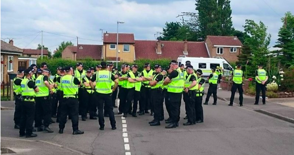 Notts 'Police', 02 July 2015. Serving the interests of UKAR, breaching oath to serve and protect the people of the county, without fear or favour.