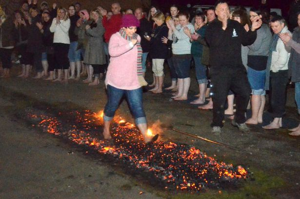 fire walking 1