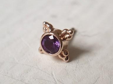 Purple Gemstones! BVLA Mini Kandy RG AA Amethyst