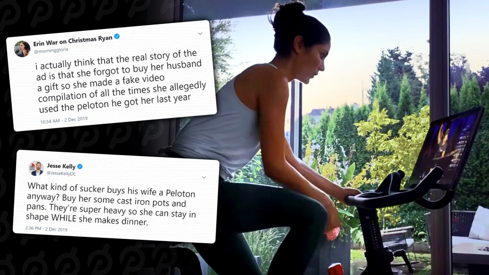 Peloton Bike Ad Ridiculed And Accused Of Being Sexist