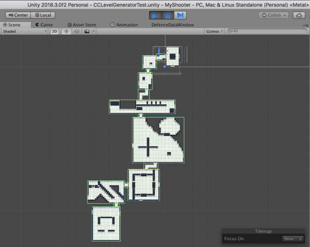 Procedural Level Generation with Rooms - Devlogs - itch io