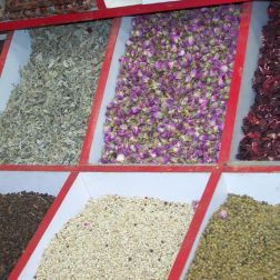Roguetrippers spent a lot of time, and money in the spice souks of Dubai, where every spice you can think of is on display.