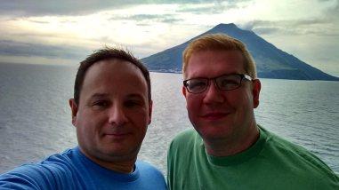 Nick & Greg of Roguetrippers cruising the mediterranean