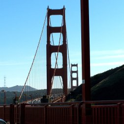 The golden Gate bridge has a long history, and a little bit of infamy for San Francisco.