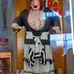 Laughing Sal at the Musee Mecanique penny arcade at the fisherman's wharf was one of Roguetrippers highlights in their visit to San Francisco in July 2016.